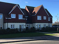 Drylining contractors at Cornmantle Court, Ringwood, Hampshire